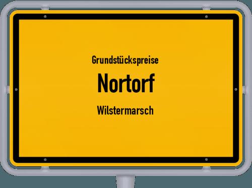 Grundstückspreise Nortorf (Wilstermarsch) 2021