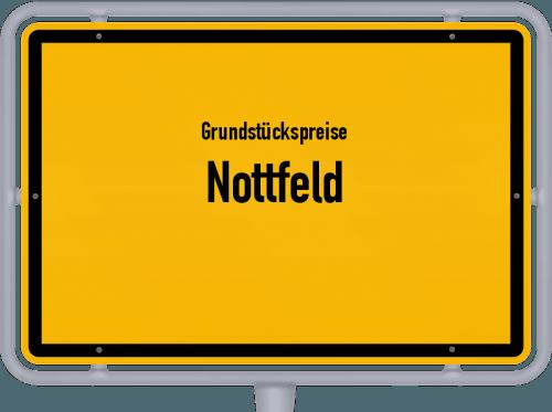 Grundstückspreise Nottfeld 2021