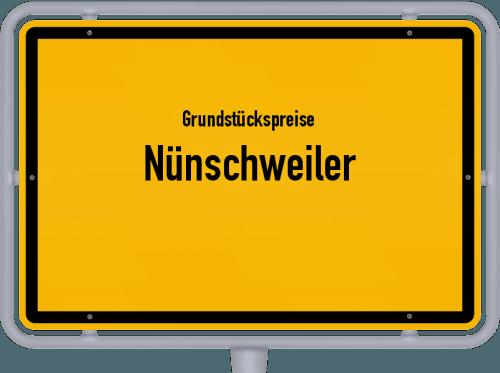 Grundstückspreise Nünschweiler 2019