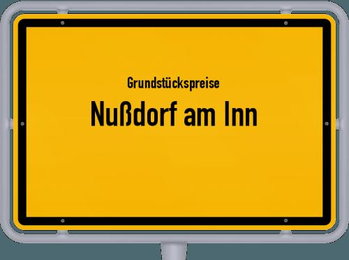 Grundstückspreise Nußdorf am Inn 2019