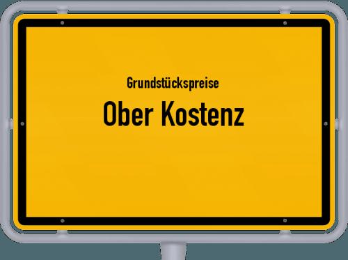 Grundstückspreise Ober Kostenz 2019