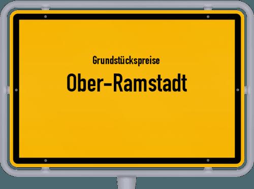 Grundstückspreise Ober-Ramstadt 2020