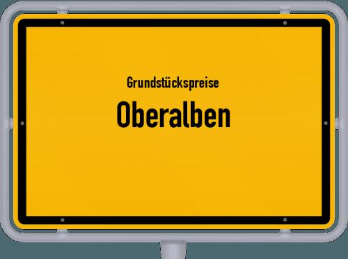 Grundstückspreise Oberalben 2019