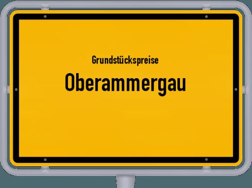 Grundstückspreise Oberammergau 2021