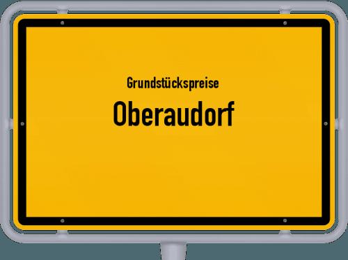 Grundstückspreise Oberaudorf 2019
