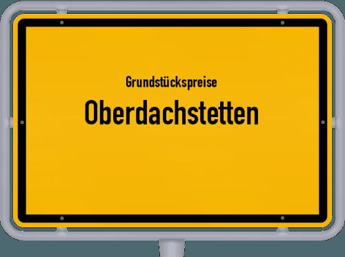 Grundstückspreise Oberdachstetten 2019