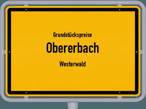 Grundstückspreise Obererbach (Westerwald) 2019