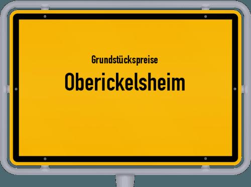 Grundstückspreise Oberickelsheim 2021