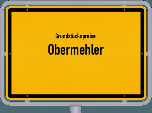 Grundstückspreise Obermehler 2019