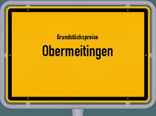 Grundstückspreise Obermeitingen 2021