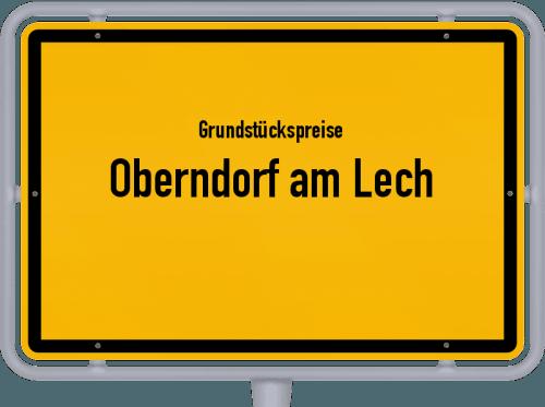Grundstückspreise Oberndorf am Lech 2019