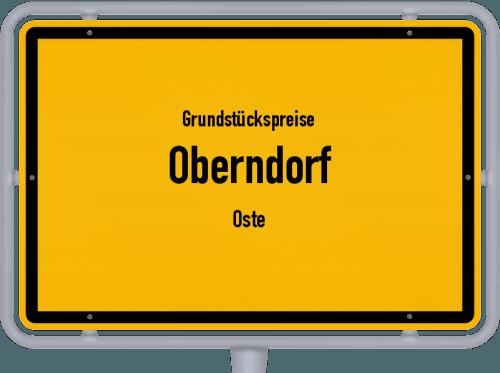 Grundstückspreise Oberndorf (Oste) 2019