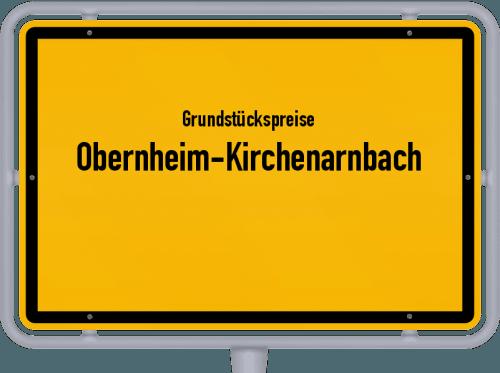 Grundstückspreise Obernheim-Kirchenarnbach 2019
