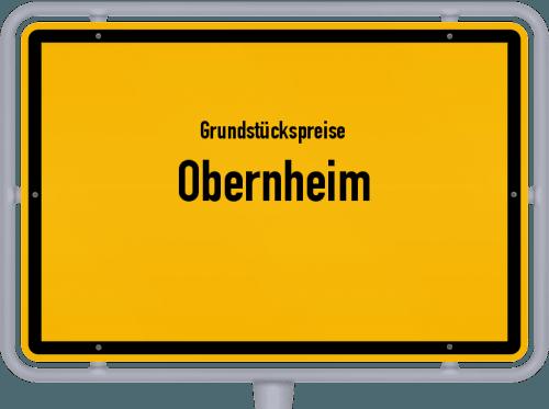 Grundstückspreise Obernheim 2021