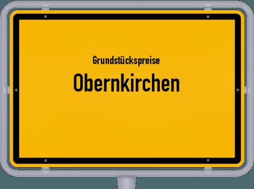 Grundstückspreise Obernkirchen 2021