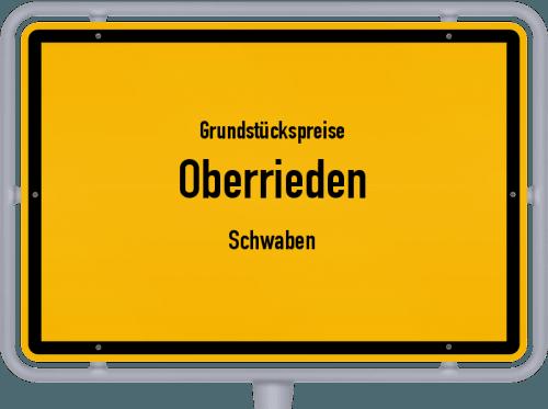 Grundstückspreise Oberrieden (Schwaben) 2021