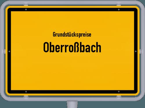 Grundstückspreise Oberroßbach 2019