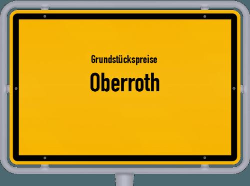 Grundstückspreise Oberroth 2021