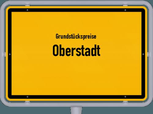 Grundstückspreise Oberstadt 2019