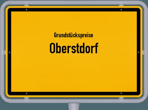Grundstückspreise Oberstdorf 2019