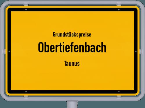 Grundstückspreise Obertiefenbach (Taunus) 2019