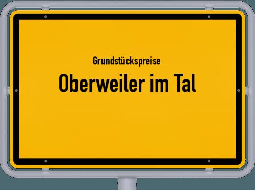 Grundstückspreise Oberweiler im Tal 2019