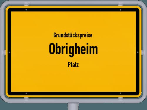 Grundstückspreise Obrigheim (Pfalz) 2019