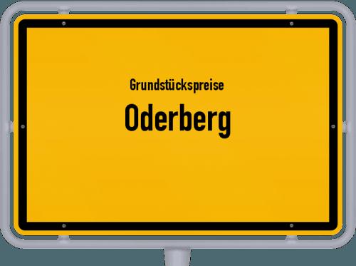 Grundstückspreise Oderberg 2021