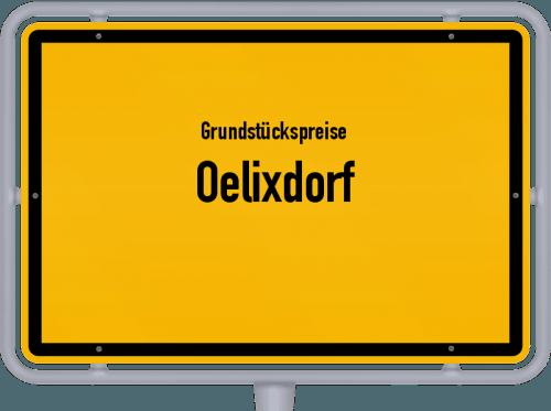 Grundstückspreise Oelixdorf 2021