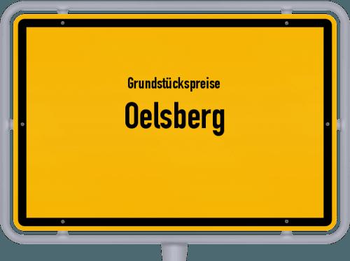 Grundstückspreise Oelsberg 2019