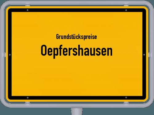 Grundstückspreise Oepfershausen 2019