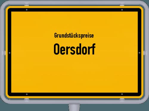 Grundstückspreise Oersdorf 2021