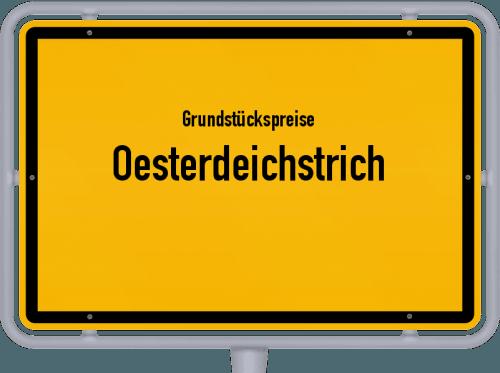 Grundstückspreise Oesterdeichstrich 2021