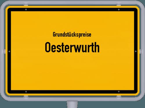 Grundstückspreise Oesterwurth 2021