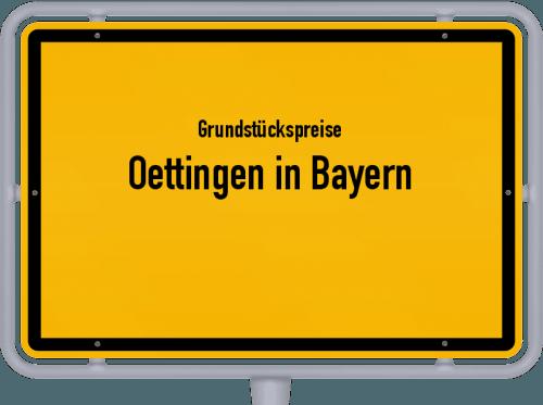 Grundstückspreise Oettingen in Bayern 2019