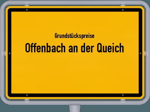 Grundstückspreise Offenbach an der Queich 2019