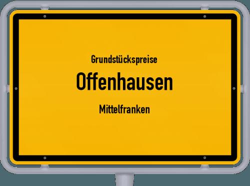 Grundstückspreise Offenhausen (Mittelfranken) 2019