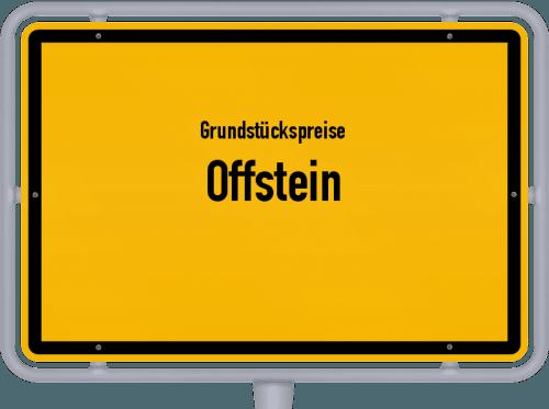Grundstückspreise Offstein 2019