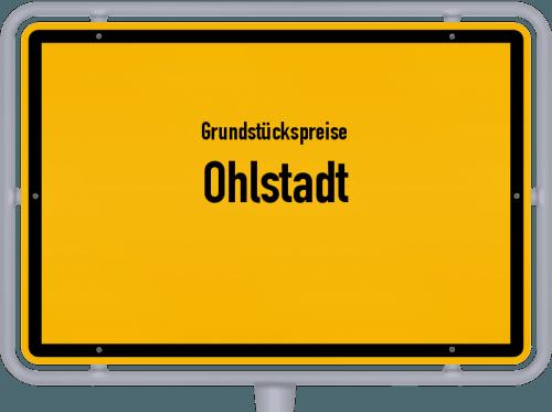 Grundstückspreise Ohlstadt 2019