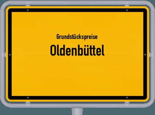 Grundstückspreise Oldenbüttel 2021
