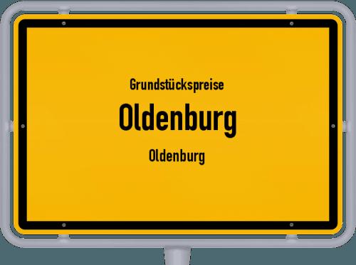 Grundstückspreise Oldenburg (Oldenburg) 2019