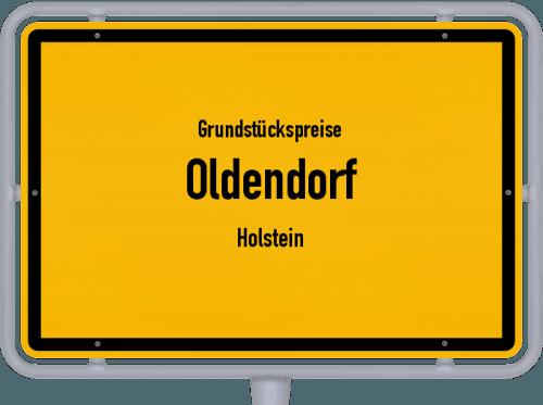 Grundstückspreise Oldendorf (Holstein) 2021