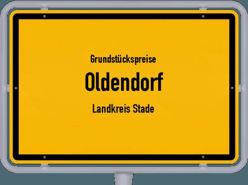 Grundstückspreise Oldendorf (Landkreis Stade) 2021