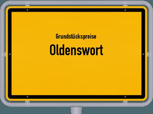 Grundstückspreise Oldenswort 2021