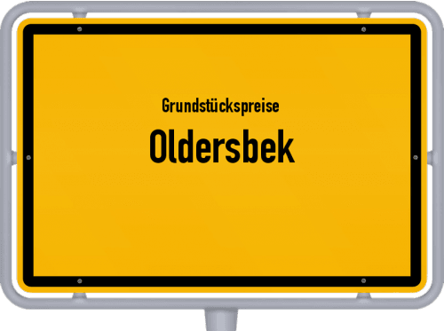 Grundstückspreise Oldersbek 2021