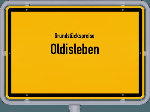 Grundstückspreise Oldisleben 2019