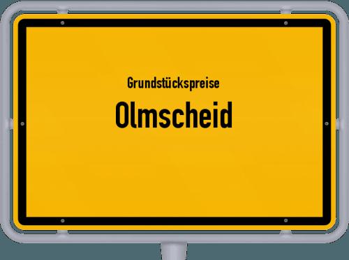 Grundstückspreise Olmscheid 2019