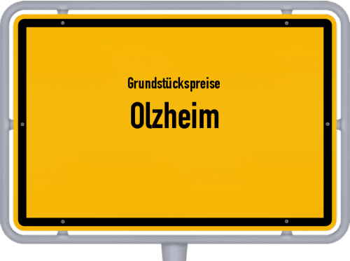 Grundstückspreise Olzheim 2019