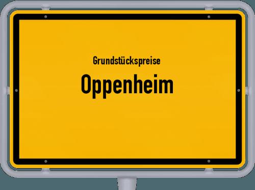 Grundstückspreise Oppenheim 2019