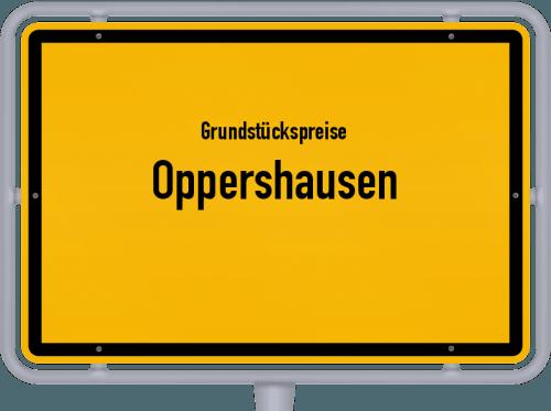 Grundstückspreise Oppershausen 2019